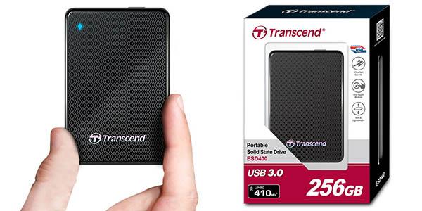 Disco portátil Transcend ESD400K 256GB