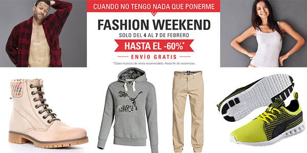 fin de semana de moda eBay