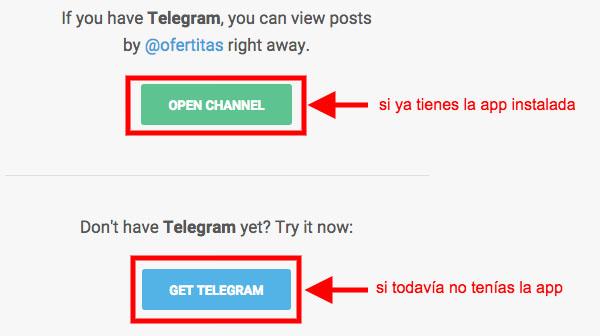 Instalación de telegram