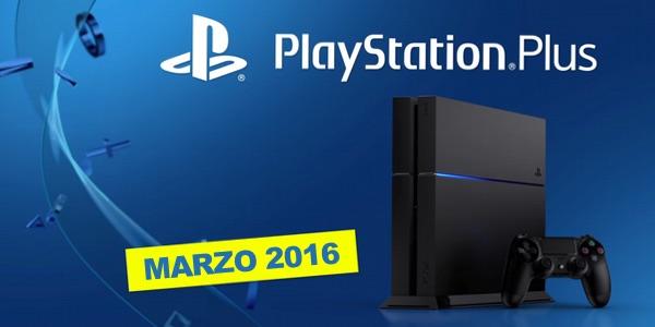 Juegos PS Plus marzo 2016