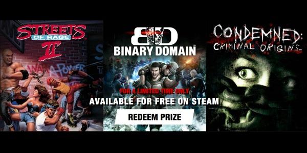juegos SEGA gratis Steam