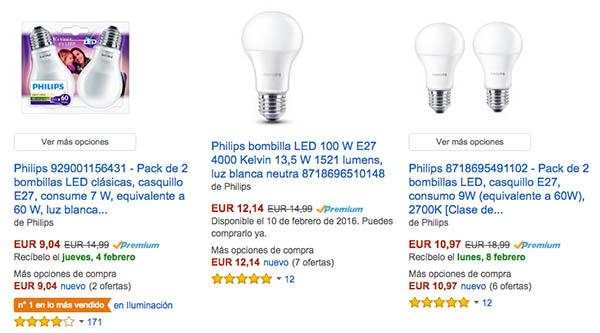 Ofertas LED de Amazon