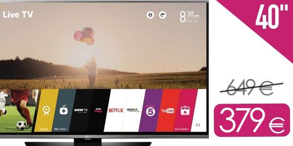TV LG 40LF630V barata