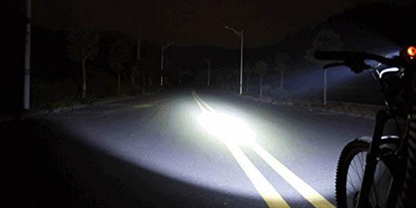 Faro delantero LED para bicicleta