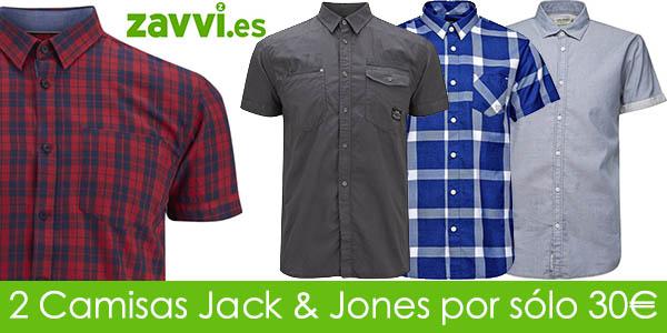 Oferta camisas Jack & Jones en Zavvi