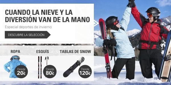 ofertas esquí eBay