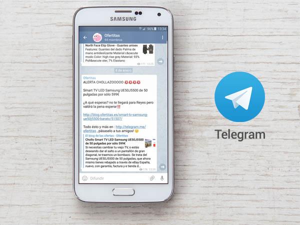 Apúntate al canal de ofertitas en telegram