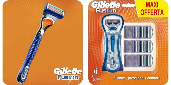 Pack Gillete Fusion
