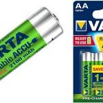 Pilas recargables Varta Power Accu 210 mAh