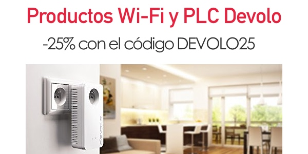 PLC Wifi Devolo cupón descuento