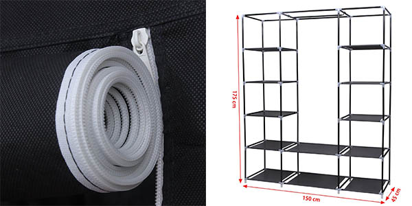 armario ropero tela barato