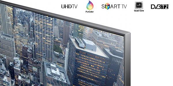 Televisor LED Samsung 4K de 40''