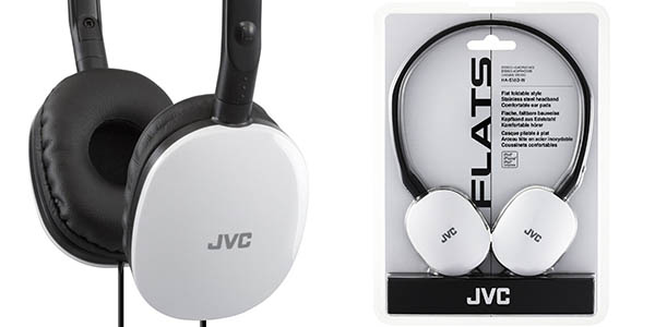 Auriculares JVC HAS160W Flat White