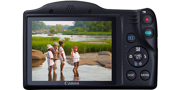 Pantalla Canon PowerShot SX410 IS