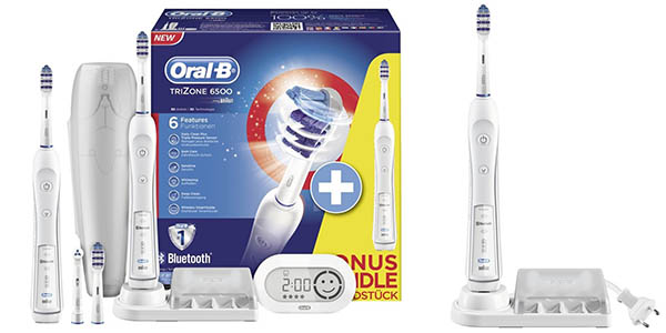 cepillo dientes electrico oral b con cabezales y app para smartphone