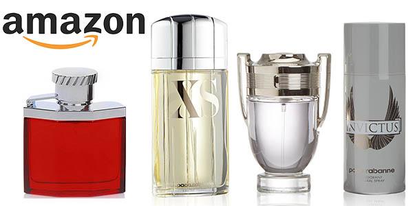 Selección de perfumes baratos en Amazon