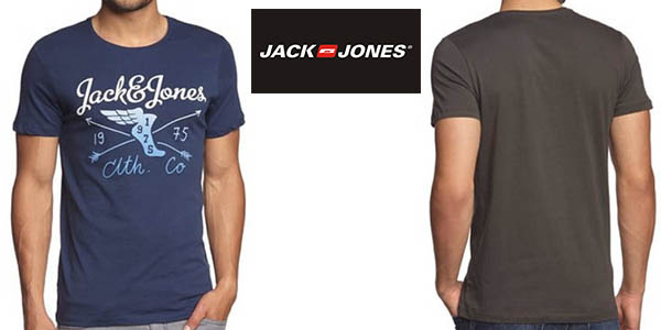 jack and jones camiseta para hombre basica barata