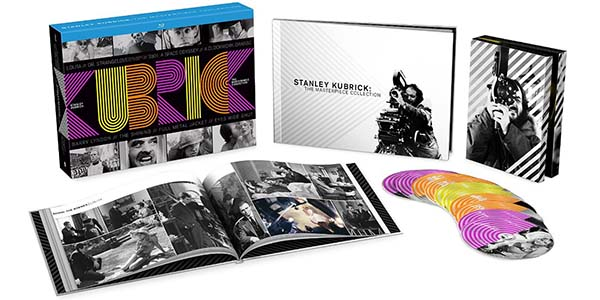 Stanley Kubrick The Masterpiece Collection en Blu-ray