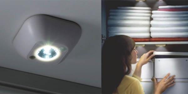 Luz LED para espacios reducidos con sensor de moviento
