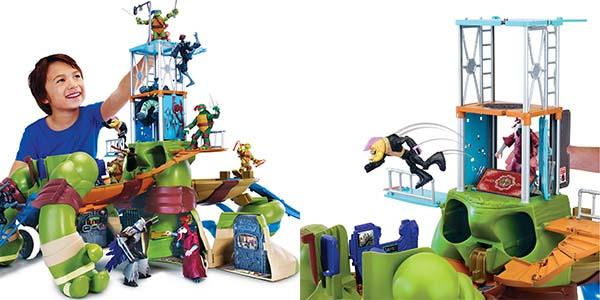 Playset tortugas ninja Leonardo 85 cm