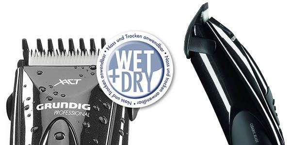 oferta cortador de pelo grundig con tecnologia wet and dry