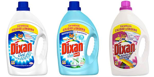 oferta dixan detergente ropa 38 dosis