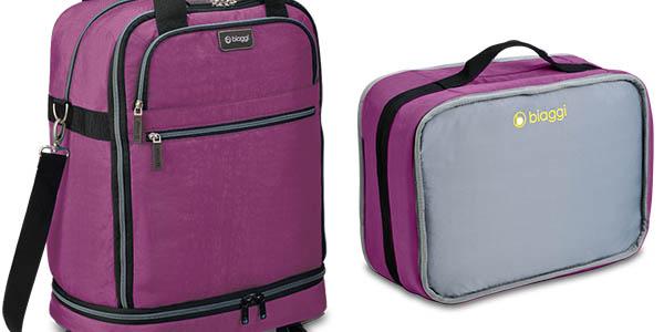 oferta maleta de equipaje biaggi zipsak de 55 cm