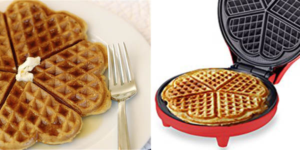 oferta maquina para waffles antiadherente