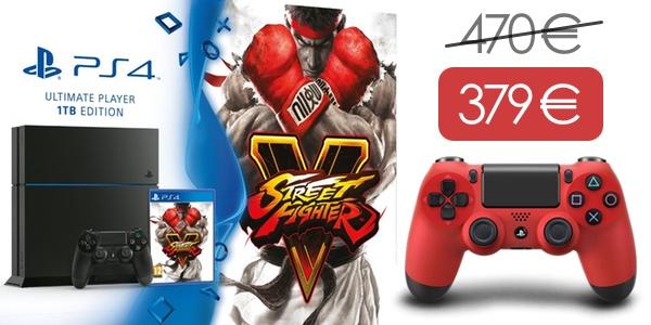PS4 1TB barata con mando adicional
