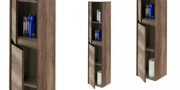 mueble melamina con puertas y estantes barato