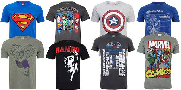 2 camisetas geek por 27€ en Zavvi