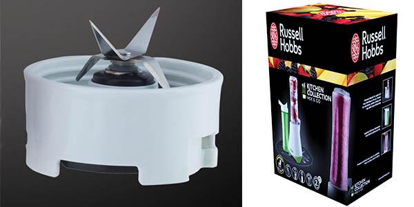 russell hobbs licuadora ergonomica con picador de hielo