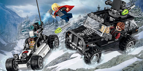 Figuras Set LEGO Super Héroes Marvel Vengadores