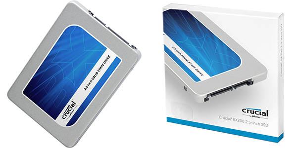 Disco SSD Crucial BX200 240 GB