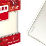 Disco duro portátil Toshiba Canvio Connect II 3TB