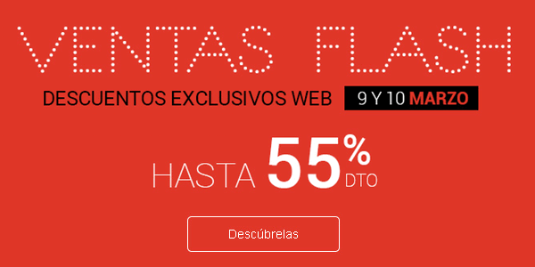 Ventas Flash Fnac 09-03-2016