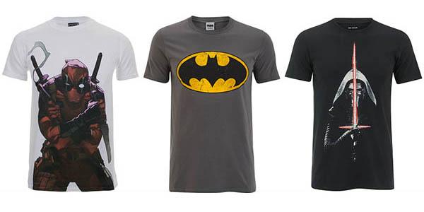 Promoción camisetas Geek Zavvi