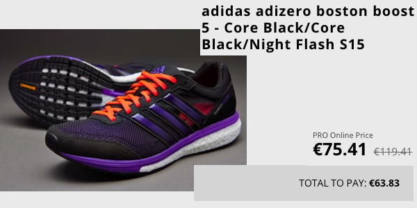 Agresivo seco Intestinos  Adidas Adizero Boston Boost 5 con 66€ de descuento