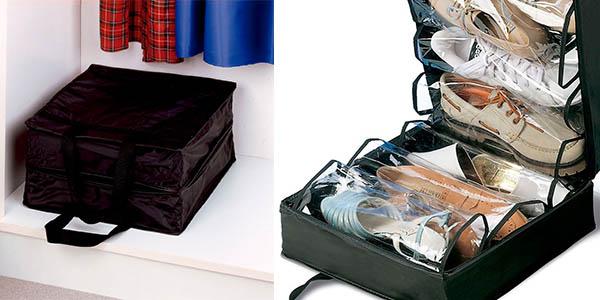 maleta de transporte para zapatos rayen