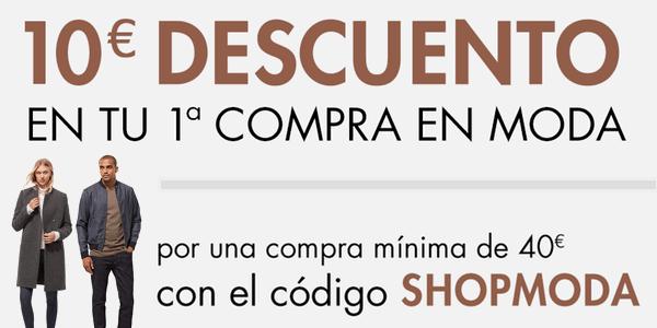 Cupón descuento Amazon Moda 10 euros