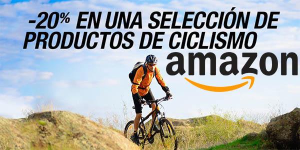 amazon promocion productos ciclismo cupon descuento abril 2016