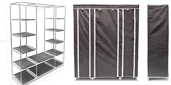 mueble auxiliar plegable para almacenaje extra