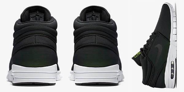 botas de skate con amortiguacion nike janoski en color negro tienda online