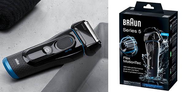 braun series 5 5040s afeitadora en seco y mojado que no irrita la piel