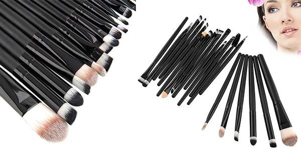 brochas y pinceles maquillaje para sombra de ojos a precio brutal