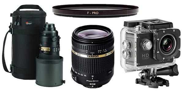 camaras fotos tripodes y objetivos baratos en la semana de la fotografia de amazon