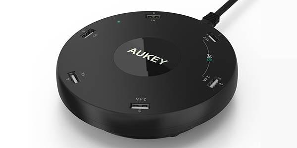 Cargador USB portátil Aukey