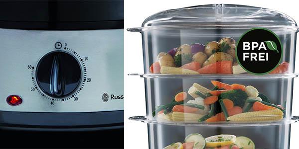 cocina vapor aparato libre bpa russell hobbs potente