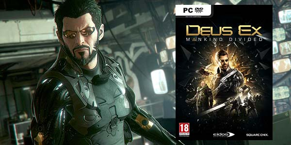 Deus Ex: Mankind Divided para Steam
