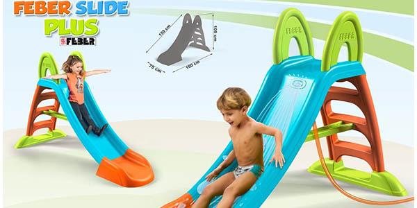 divertido tobogan para niños 2 a 6 años estable y resistente